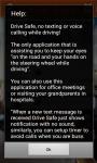 Drive Safe Android App screenshot 4/4