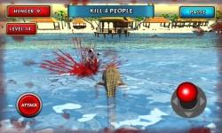 Crocodile Simulator Beach Hunt screenshot 1/6