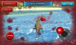 Crocodile Simulator Beach Hunt screenshot 2/6