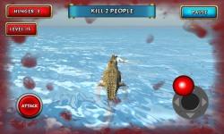 Crocodile Simulator Beach Hunt screenshot 4/6