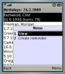 HandyBirthdays screenshot 1/1
