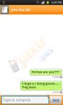 JaxtrSMS screenshot 3/4