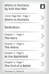 EBook - Aliens Vs Human  screenshot 2/4
