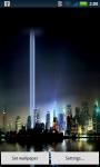 9/11 New York Live Wallpaper screenshot 2/4
