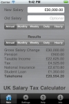 UK Salary Tax Calculator screenshot 1/1