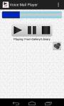 VoiceMail Player screenshot 1/3
