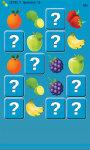 Memory Game Fruits screenshot 2/4