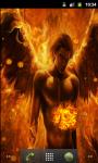 Fire Cool Angel Live Wallpaper screenshot 1/5
