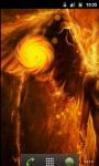 Fire Cool Angel Live Wallpaper screenshot 2/5