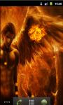 Fire Cool Angel Live Wallpaper screenshot 3/5