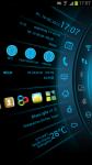 Blue Light Toucher Theme GO screenshot 2/2