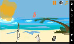 Penguin Madagascar On Beach screenshot 2/3