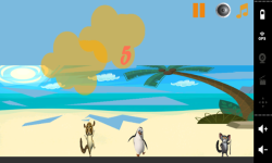 Penguin Madagascar On Beach screenshot 3/3