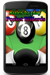 Rules to play Pocket Billiards screenshot 1/3