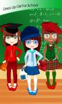 Dress Up Girl For School screenshot 1/6