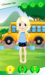 Dress Up Girl For School screenshot 2/6