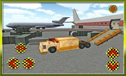 Plane Cargo Transporter Truck screenshot 3/4