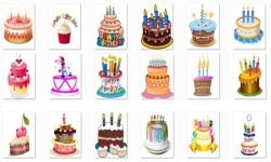 Birthday Cake Onet Classic Game screenshot 1/2