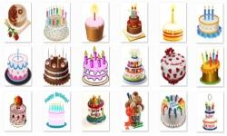 Birthday Cake Onet Classic Game screenshot 2/2