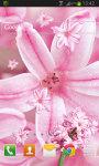 Pink Flowers LWP Free screenshot 2/2