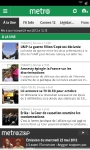 metronews screenshot 1/4