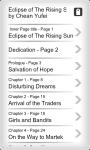 Ebook - Eclipse of Rising Sun screenshot 2/4
