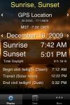 Sunrise Sunset Lite screenshot 1/1
