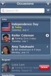Occasions: Birthdays & More! screenshot 1/1