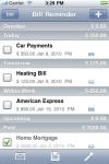Bill Reminder - iApp Ventures LLC screenshot 1/1