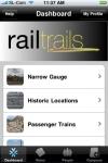 railtrails screenshot 1/1