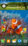 Clown Fish Underwater Live Wallpaper screenshot 1/3