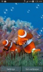 Clown Fish Underwater Live Wallpaper screenshot 2/3