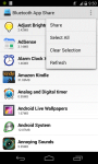 Bluetooth applications screenshot 3/3