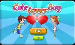 Cute Lover Boy screenshot 1/6