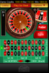 Spin Palace Casino Roulette screenshot 3/5