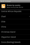 World Factbook for Android screenshot 1/1