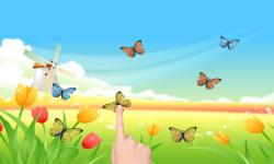 Windmill poppies butterflies screenshot 1/2