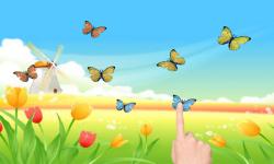 Windmill poppies butterflies screenshot 2/2