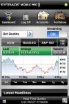 E*TRADE Mobile Pro screenshot 1/1