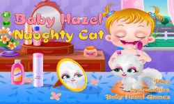 Baby Hazel Naughty Cat screenshot 1/6