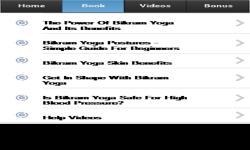 Bikram Yoga App screenshot 2/3