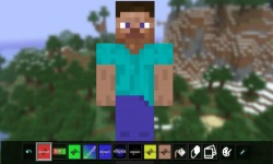 Minecraft Skin Editor screenshot 1/1