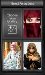 Zipper Lock Screen Hijab screenshot 3/6