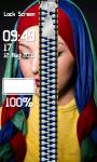Zipper Lock Screen Hijab screenshot 4/6