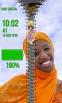 Zipper Lock Screen Hijab screenshot 5/6