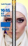 Zipper Lock Screen Hijab screenshot 6/6