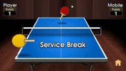Mobi Table Tennis screenshot 2/2