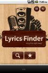 Lyrics Finder - songs lyrics in your pocket screenshot 1/6