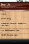 Lyrics Finder - songs lyrics in your pocket screenshot 3/6