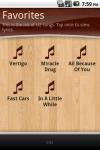 Lyrics Finder - songs lyrics in your pocket screenshot 6/6